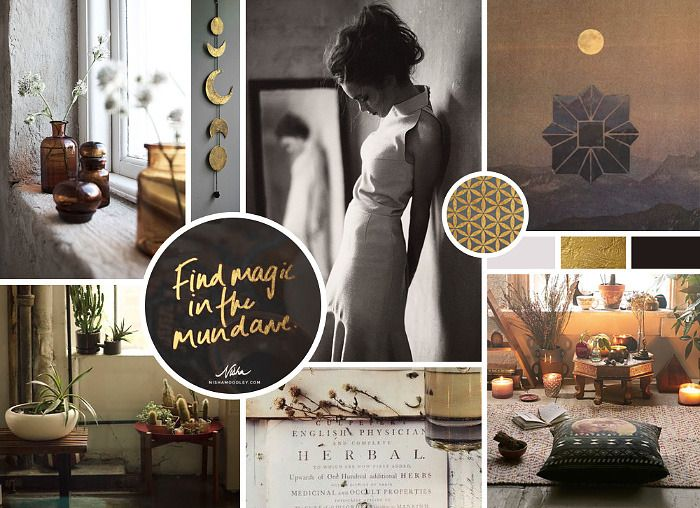 a Mood Board example for your web design RFP