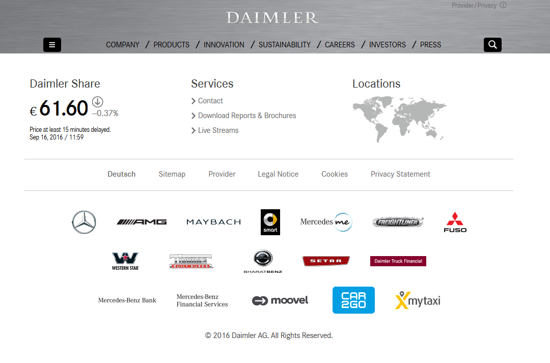 Daimler Ag Brands Pictures To Pin On Pinterest Thepinsta